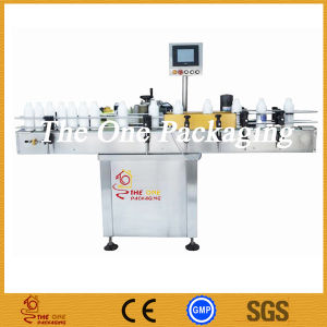 on Line Round Bottle Labeling Machine, Sticker Bottle Labeler in Line pictures & photos