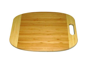 Bamboo Cutting Board with Handle (JD-KC008)