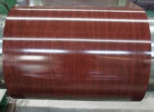 China Manufacturer Wood Grain PPGI Wooden PPGI Wooden Color Stee for Sandwich Panel Roofing Sheet Manufacturer Factory in China