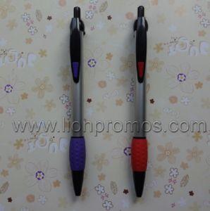 Rubber Grip Cheap Plastic Pen pictures & photos