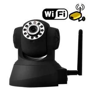 WiFi IP Camera P2p Security Monitor DVR in Your Smart Phone Onvif IR-Cut H. 264 pictures & photos