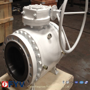 API 6D Forged Steel Trunnion Ball Valve pictures & photos