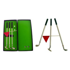 Metal Golf Pen with Golder Gift Box pictures & photos