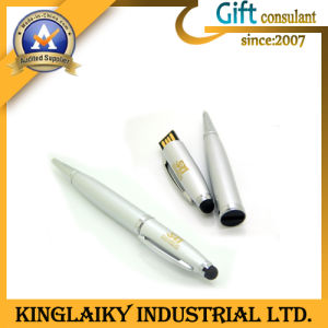 2016 Newest Design Pen USB for Gift with Customized Logo (KD-001) pictures & photos