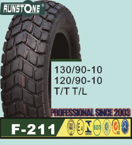 Motorcycle Tyre/Scooter Tyre 120/90-10 130/90-10 pictures & photos