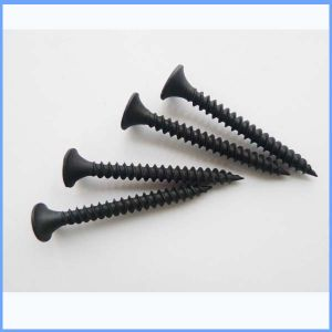 Black Phosphated Gypsum Board Screw pictures & photos