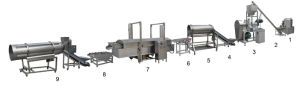 Cheetos Making Machine/Kurkure Extruder/Snacks Food Machine pictures & photos