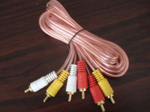 3RCA AV Cable/RCA Cable (SL007)