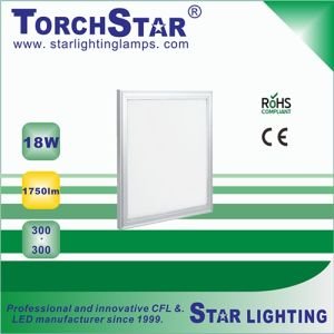 Ce RoHS Certificated 300X300mm 18W Aluminum Panel LED Lamp