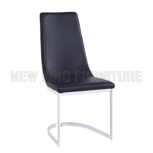 Modern Cheap Fashion PU Leather Dining Chair (NK-DC009) pictures & photos