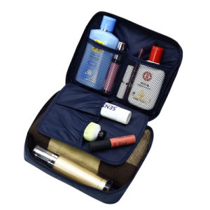 Women Makeup Wash Flower Printing Necessary Cosmetic Toiletry Bag pictures & photos