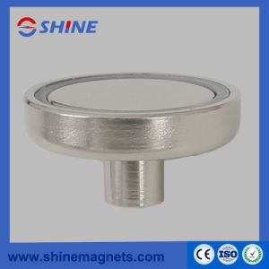 Neodymium Pot Magnets with Internal Thread pictures & photos