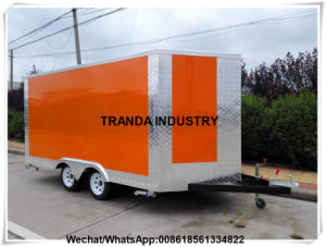 2017 The Latest Top Quality Mobile Vending Vans pictures & photos