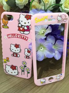 360 Degree Full Protect Mobile Phone Cartoon Case for iPhone6/7/7plus TPU Soft Case pictures & photos