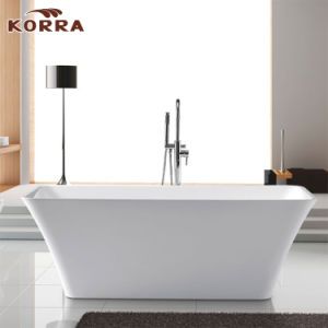 Acrylic Simple Freestanding Bathtub with Cupc/Ce (K1504) pictures & photos