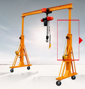 Liftking Brand Steel Gantry Crane 2 Ton Price From China Crane Hometown pictures & photos