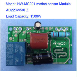 New AC220V 1500W Microwave Motion Sensor Module Detector Detection Hw-Mc201 pictures & photos
