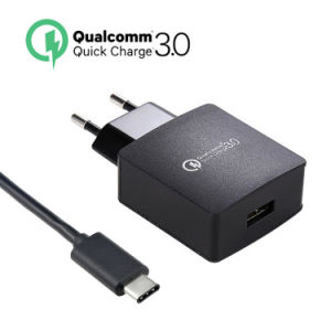 EU/Us USB Travel Charger Adapter USB Charger QC3.0 Quick Charger pictures & photos