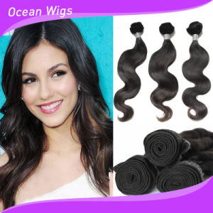 Quercy Hair Body Wave Hair Weave Brazilian Virgin Remy Human Hair Extensions (BW-020B) pictures & photos