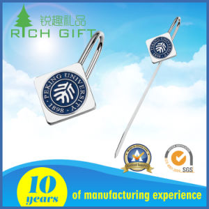 Promotion Wholesale Custom Fashion Silver Plated 3D Gold Die Casting Metal Rose Bookmark for Gift pictures & photos
