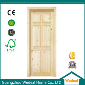 High Quality Painted Interior Solid Wooden Panel Door pictures & photos