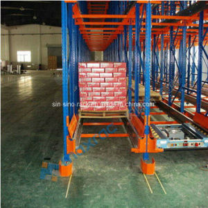 High Precision Automatic Radio Shuttle Pallet Racking pictures & photos