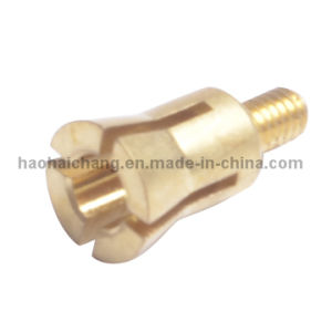Brass Threaded Hollow Bolt for Household Appliances pictures & photos