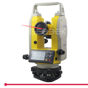 Digital Theodolite with Upward Laser Guidance 200m pictures & photos