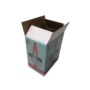 Product Packaging, Beer Box Cardboard Wine Glass Packaging Carton Boxes with Divider pictures & photos