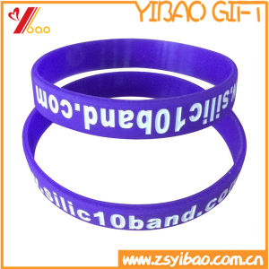 Hot Sell Fashion Silicon Bracelet for Promotion Gift (YB-SM-04) pictures & photos