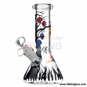 K650 Beaker Glass Pipe Oil Rig Glass Water Glass Water Smoking Pipe pictures & photos