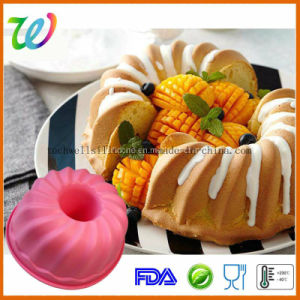 Round Silicone Chiffon Cake Mold pictures & photos