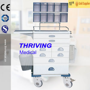 Hot Sale Ambulance Medicall Trolley (THR-ZY102) pictures & photos