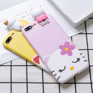 PC Cartoon Print Shockproof Phone Case for iPhone 6/7/6p/7p pictures & photos
