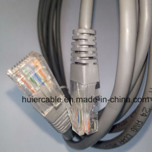 Network LAN Cat5e Patch Cord with RJ45 Connector pictures & photos
