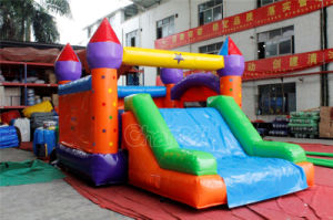 New Commercial Inflatable Bouncy Castle with Slide Chb651 pictures & photos