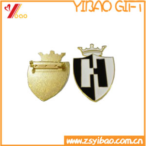Custom Simply Shape Metal Pin / Metal Badge (YB-SM-06) pictures & photos