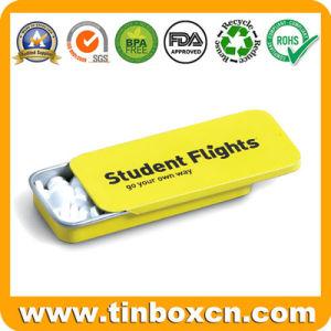 Mini Small Sliding Mint Tin for Slide Gum Tin Box pictures & photos