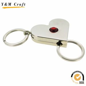 Customize Hot Sale Plastick Key Ring (Y05046) pictures & photos