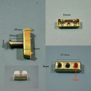 Brass Rivets with 14 Years′ Approved SGS, ISO 9001: 2008 pictures & photos