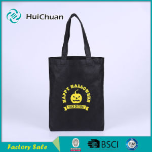 Reusable Non Woven Sewn Handle Bag Without Gusset and Bottom pictures & photos