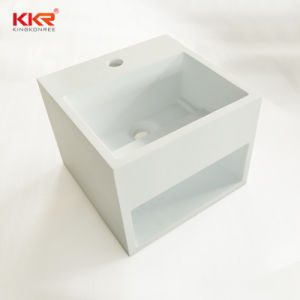 Modern Corian Solid Surface Countertop Wash Basin pictures & photos
