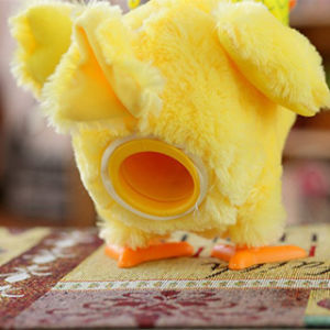 Toy Doll Laying Egg Electric Plush Crazy Chicken with Lights Sound Music pictures & photos