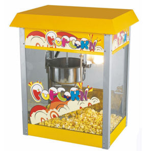 Electric Popcorn Making Machine Commercial Puffed Rice Wheat Machine pictures & photos