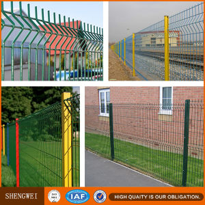 PVC Coated Border Green Garden Wire Mesh Fence pictures & photos