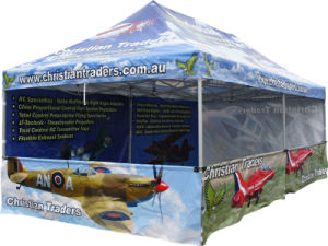 3*6m PVC Fabric Portable Canopy Tent Pop up Marquee Tent for Event pictures & photos