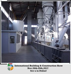 Natural Gypsum Powder Production Line 80-120 Mesh pictures & photos