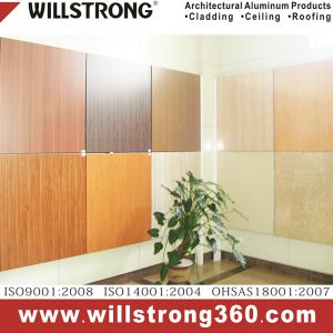 Mable Texture Aluminum Honeycomb Panel for Kitchen pictures & photos