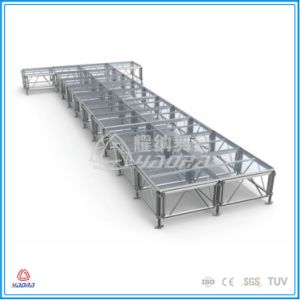 Quick Install Acrylic Glass Stage, Stage Equipment, Aluminum Mobile Stage pictures & photos