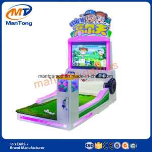 Children Cartoon Amuseument Equipment with Gift Machine Kids Indoor Mini Golf Coin Operated Ticket Game pictures & photos